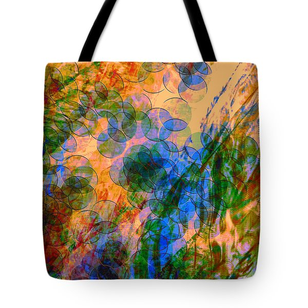 Tote Bag featuring the digital art Noise No.2 by Dedric Artlove W
