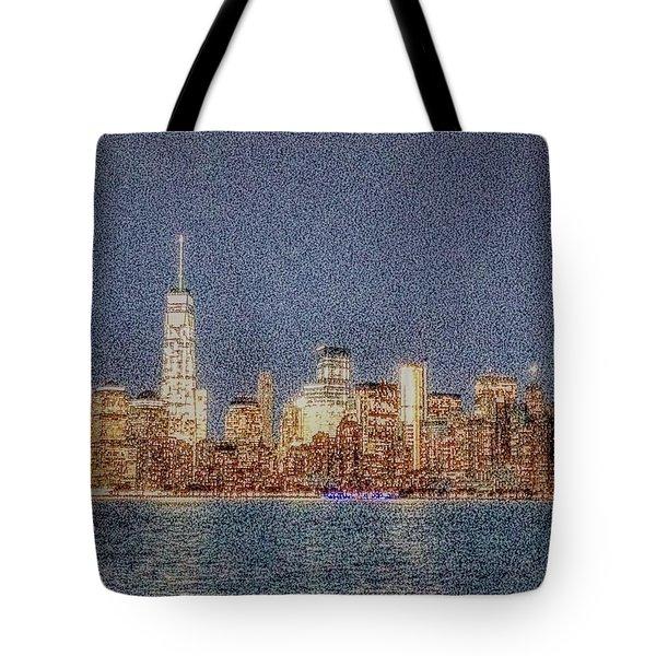 Noisy City Tote Bag