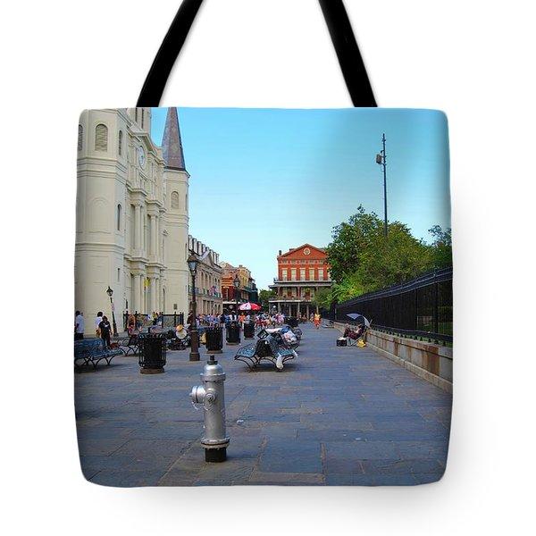 Nola Jackson Square Tote Bag