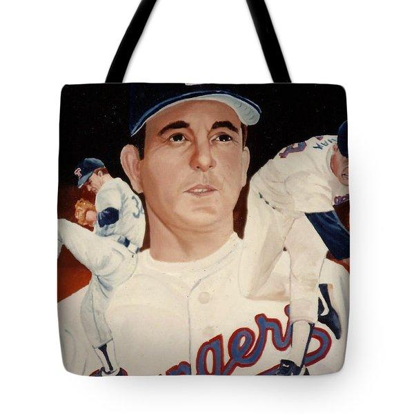 Nolan Ryan Medley Tote Bag