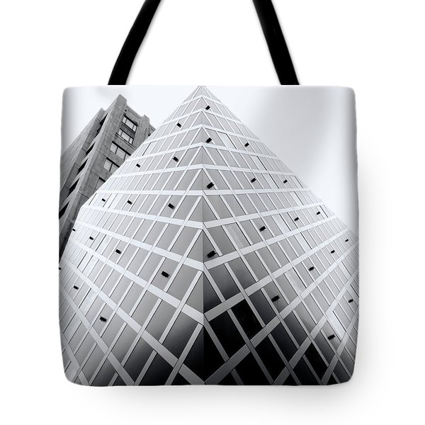 Tote Bag featuring the photograph Non-pyramidal by Wayne Sherriff