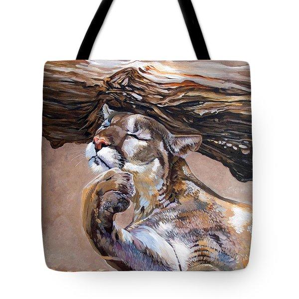 Nonchalant Tote Bag by J W Baker