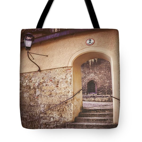 Tote Bag featuring the photograph Nonnberg Abbey In Salzburg Austria  by Carol Japp