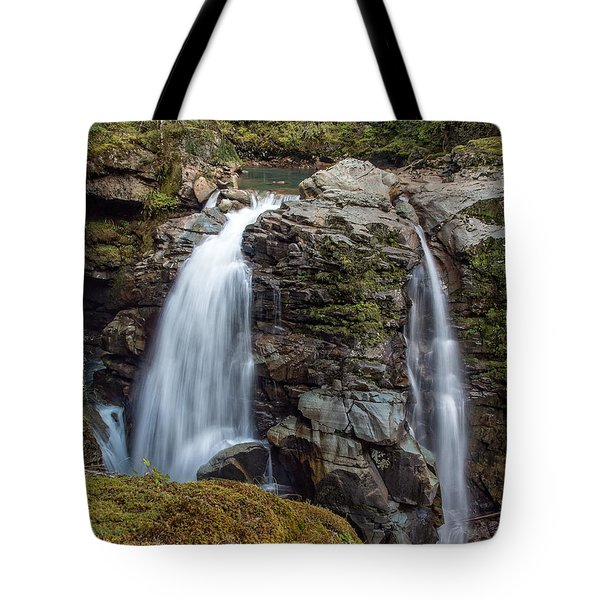 Nooksak Falls Tote Bag