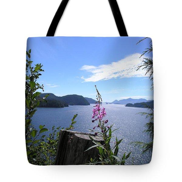 Flowers Of Nootka Sound Tote Bag