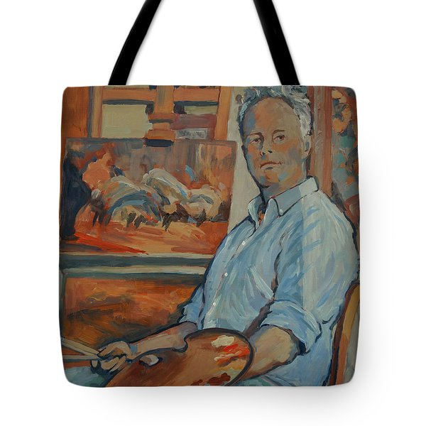 Nop Briex Self Portrait Tote Bag