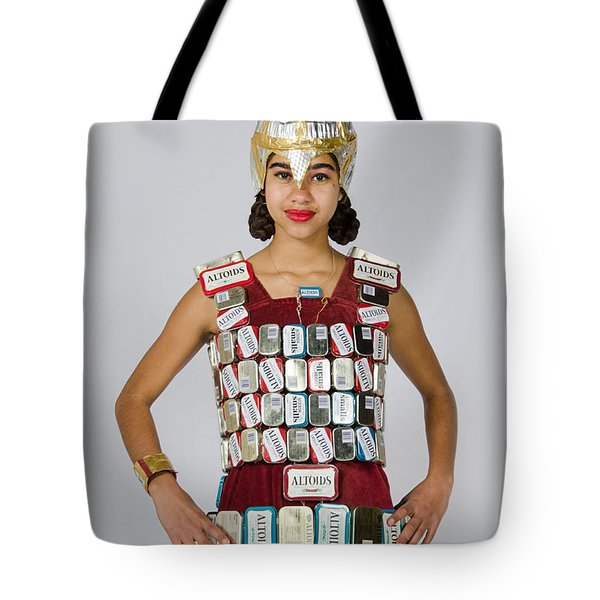 Noquisi In The Lady Knight Tote Bag