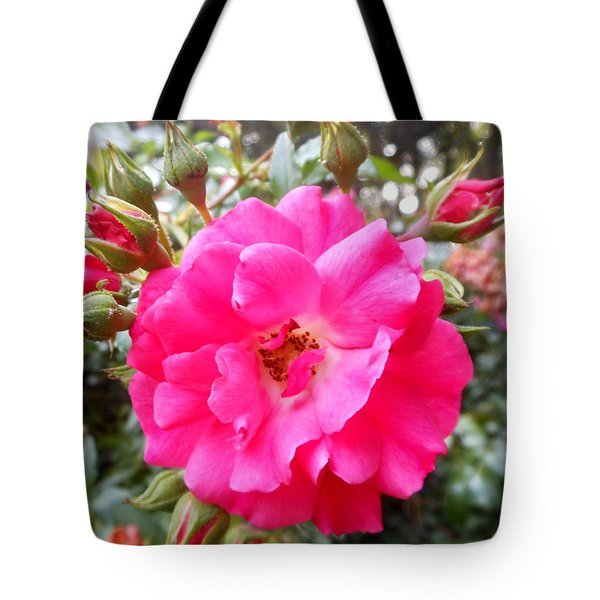 Nora's Knockout Roses Tote Bag