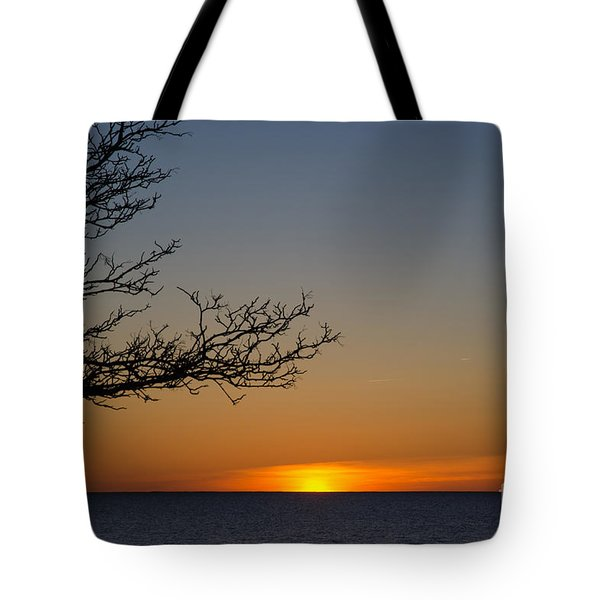 Nordic Sunset Tote Bag