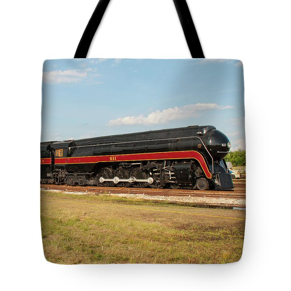 Norfolk And Western J-class 611 Tote Bag