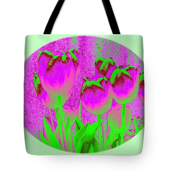 Noric House Tulips Tote Bag by Will Borden
