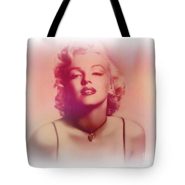 Norma Jeane Mortenson, Aka Marilyn IIi Tote Bag by Al Bourassa