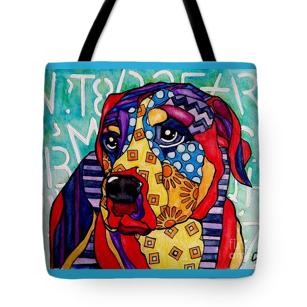 Norman  Tote Bag by Jackie Carpenter