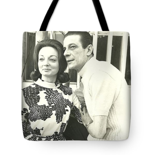Norman Treigle And Linda Tote Bag