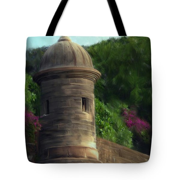 Norma's Pr Tower Tote Bag