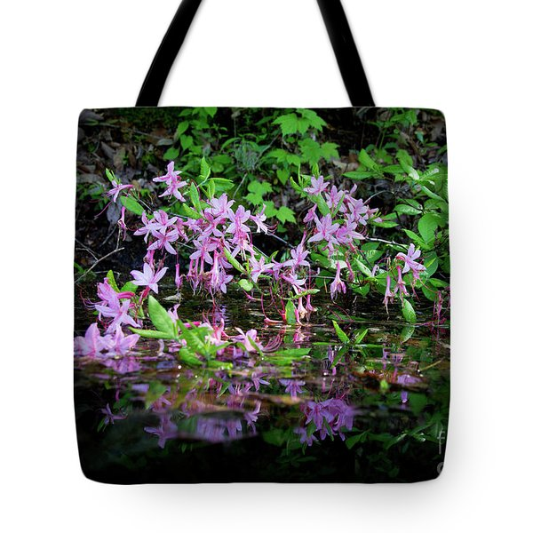 Tote Bag featuring the photograph Norris Lake Floral 2 by Douglas Stucky