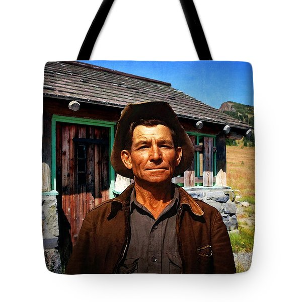 Norris' New Digs Tote Bag by Timothy Bulone