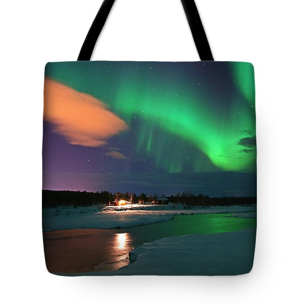 Norrsken 3 Tote Bag