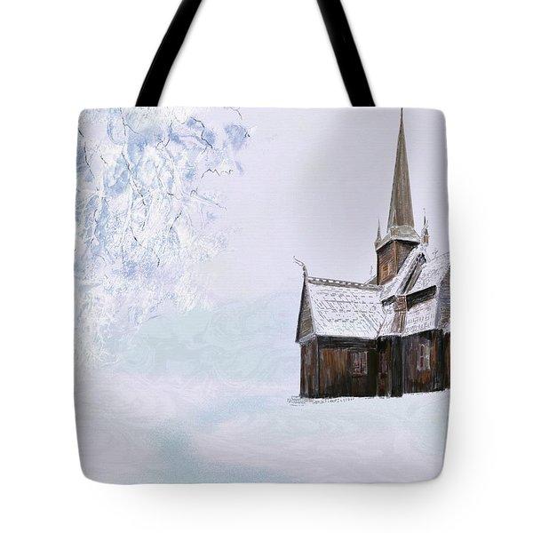 Norsk Kirke Tote Bag