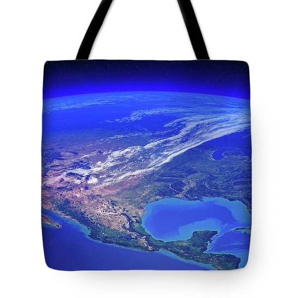 North America Seen From Space Tote Bag