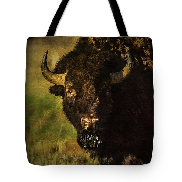 North American Buffalo Tote Bag