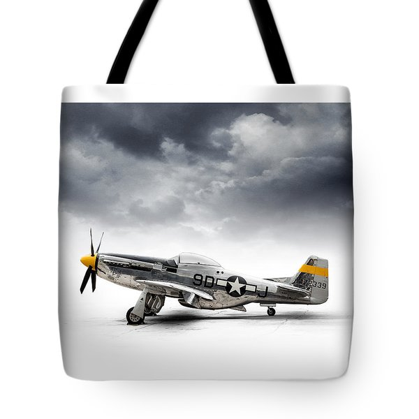 North American P-51 Mustang Tote Bag by Douglas Pittman