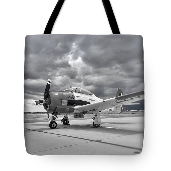 North American T-28 Tote Bag