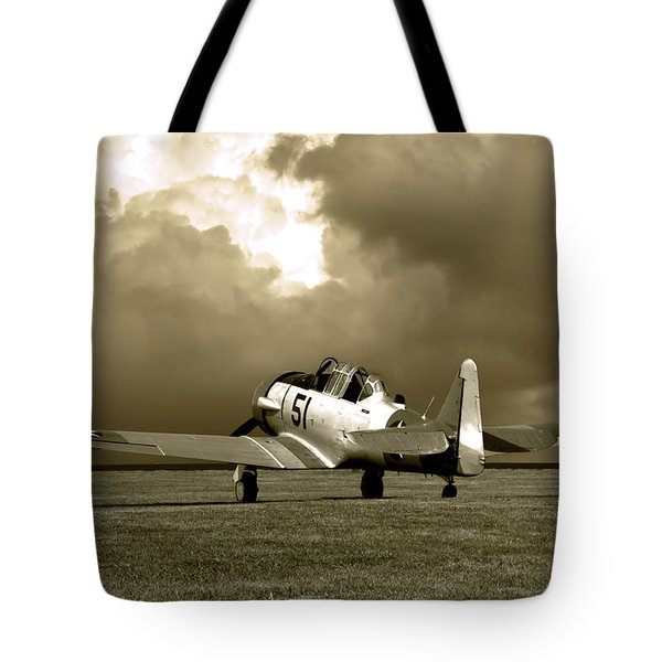 North American T6 Tote Bag