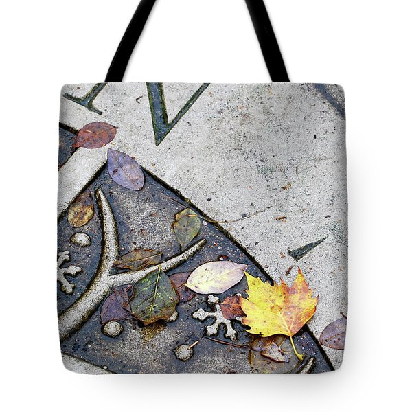 North Autumn Leaves Tote Bag