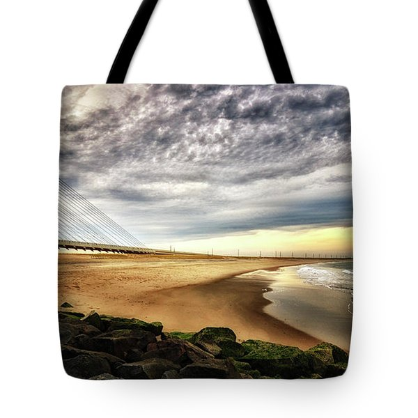 North Beach At Indian River Inlet Tote Bag