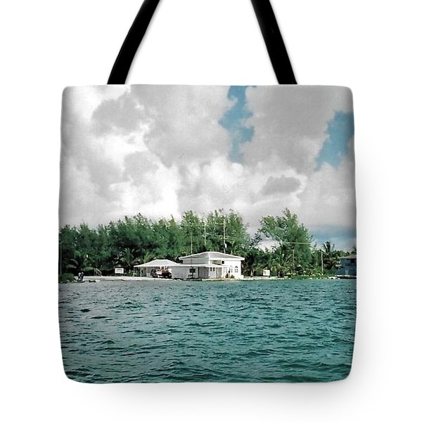 North Bimini Airport Tote Bag