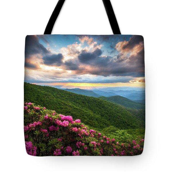 North Carolina Blue Ridge Parkway Scenic Landscape Asheville Nc Tote Bag