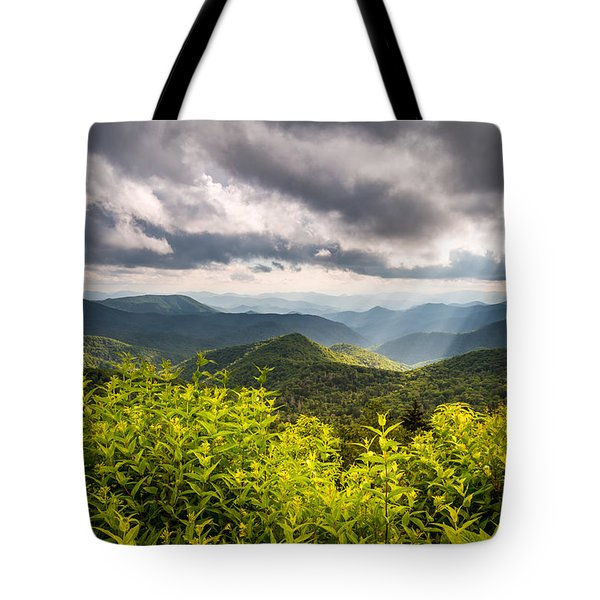 North Carolina Blue Ridge Parkway Scenic Landscape Photography Asheville Nc Tote Bag
