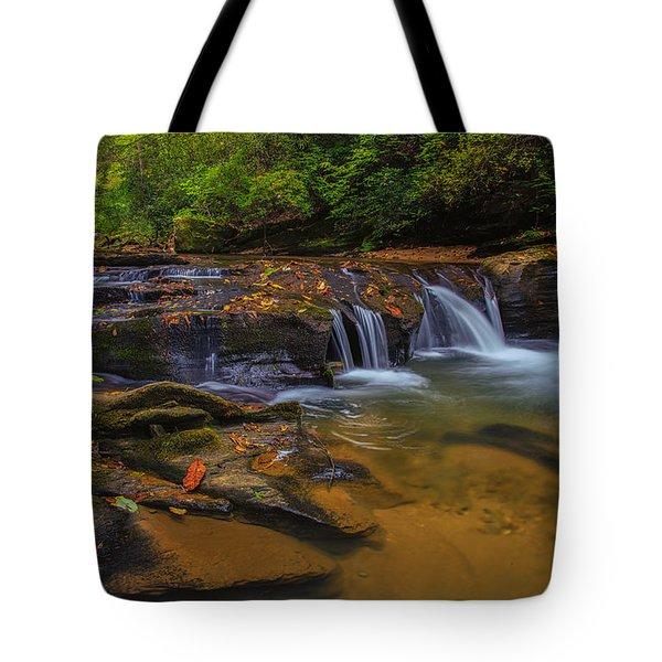 North Carolina Cascade Tote Bag
