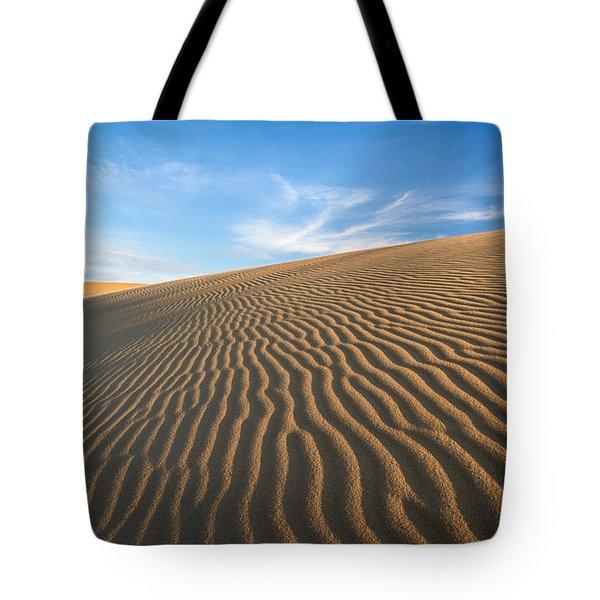 North Carolina Jockey's Ridge State Park Sand Dunes Tote Bag by Mark VanDyke