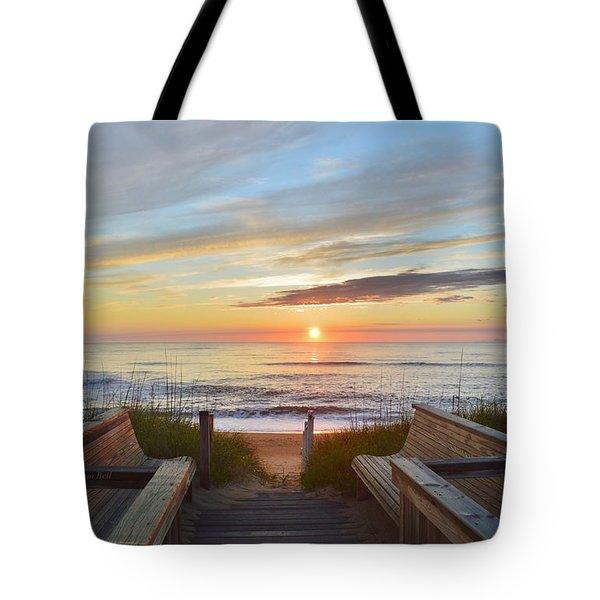 North Carolina Sunrise Tote Bag