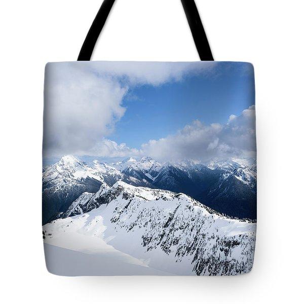 North Cascade Mountains Tote Bag