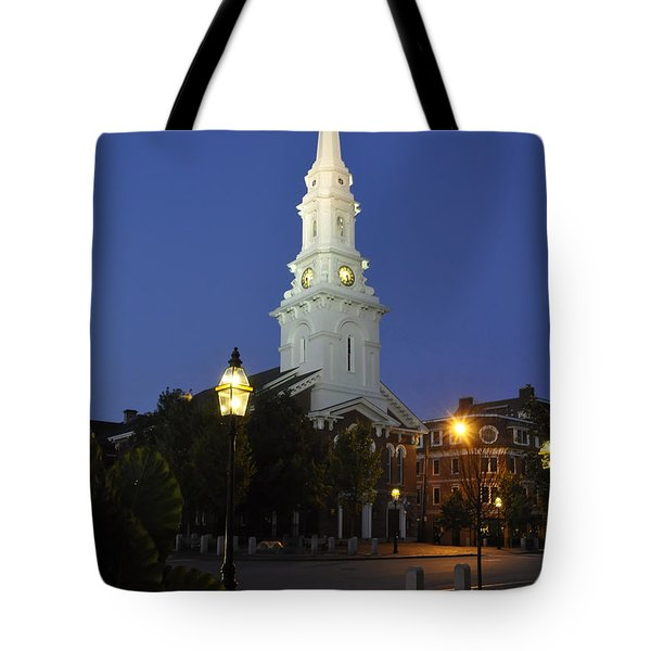 North Church Ncp Tote Bag by Jim Brage
