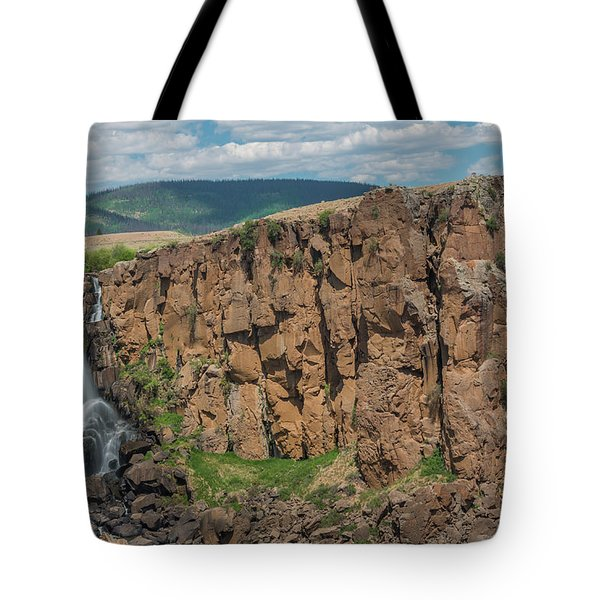 North Clear Creek Falls, Creede, Colorado 2 Tote Bag