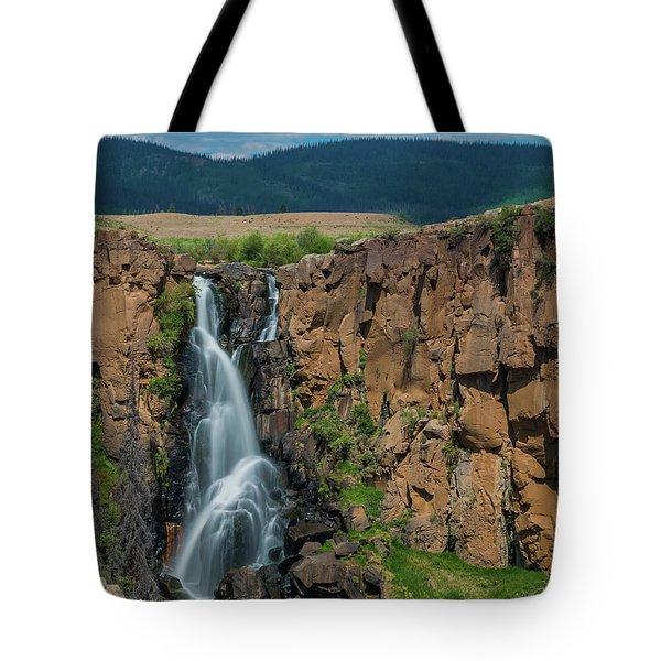 North Clear Creek Falls, Creede, Colorado Tote Bag