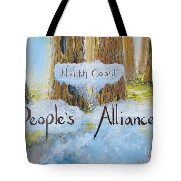 North Coast People's Alliance Tote Bag