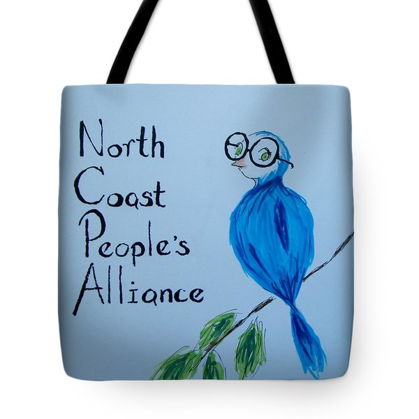 North Coast People's Alliance With Bernie Tote Bag