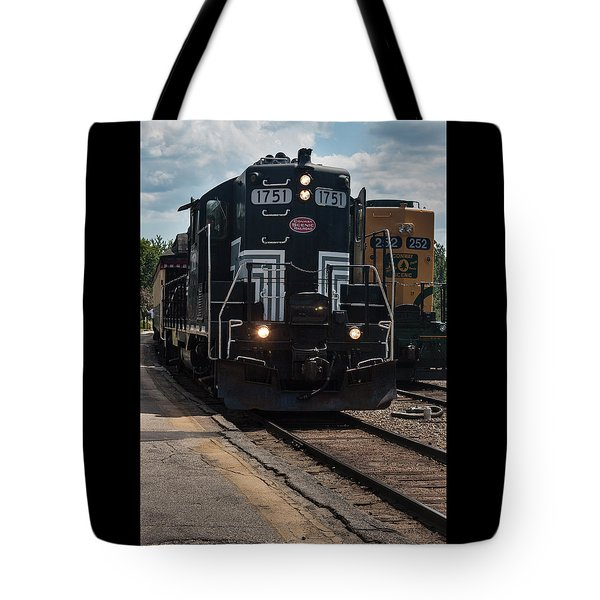 Conway Scenic Railroad - New Hampshire Tote Bag by Suzanne Gaff