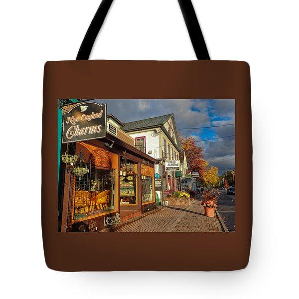 North Conway Village 3 Tote Bag