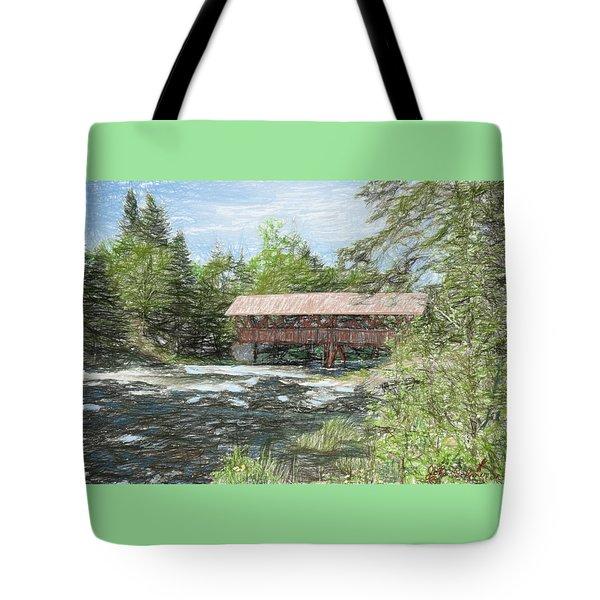 North Country Bridge Tote Bag