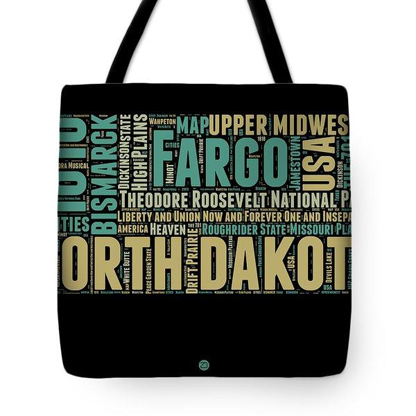 North Dakota Word Cloud 1 Tote Bag