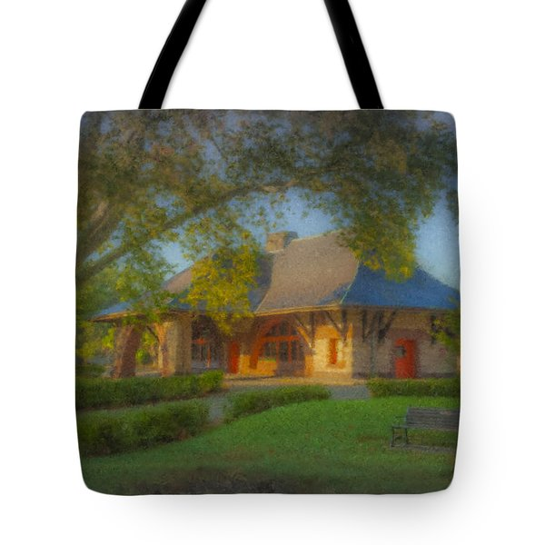 North Easton Train Station Tote Bag