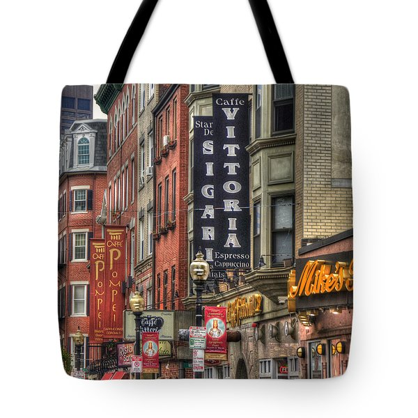 North End Charm 11x14 Tote Bag