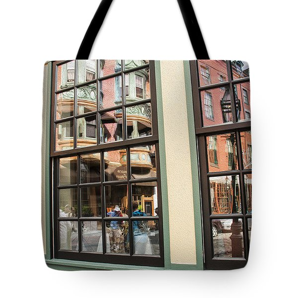 North End  Reflection Tote Bag