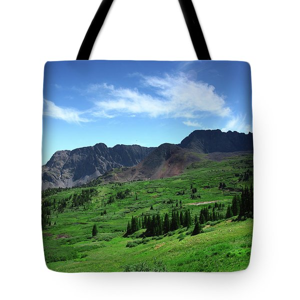 North Fork Lake Tote Bag